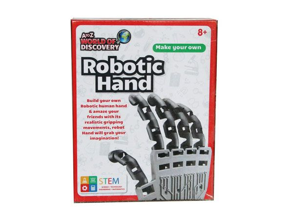 A To Z Toys, Make Your Own Robot Hand