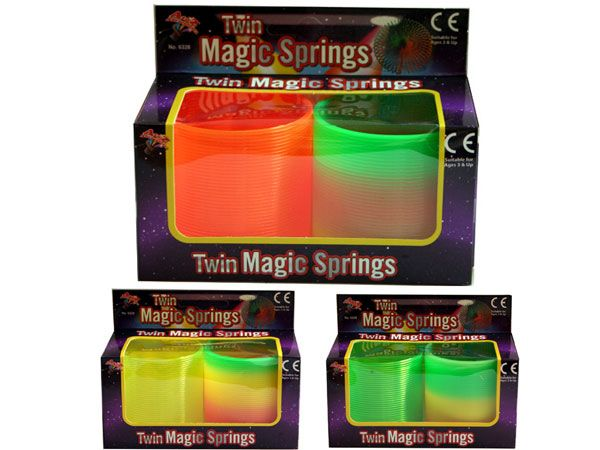 2pk A to Z  Magic Springs, Assorted, Picked At Random