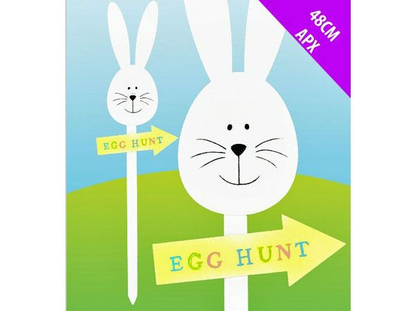 Easter Egg Hunt Wooden Yard Stick