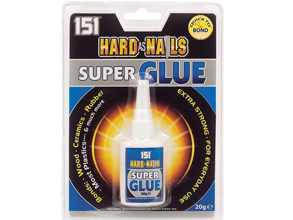 Hard As Nails Super Glue 20g, by 151 Products