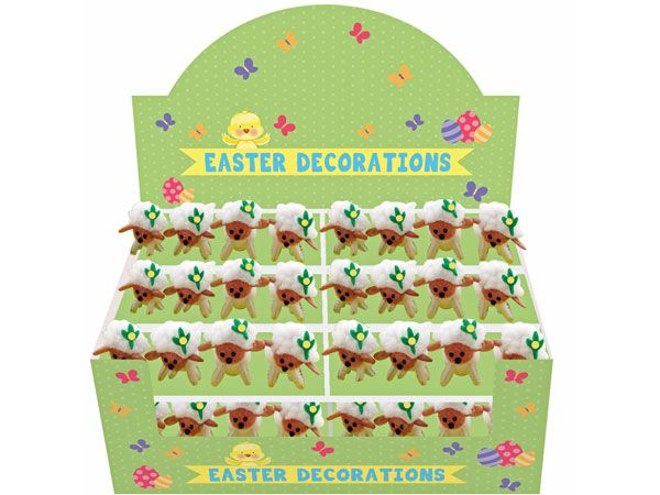 4 Cute Easter Lambs Decoration