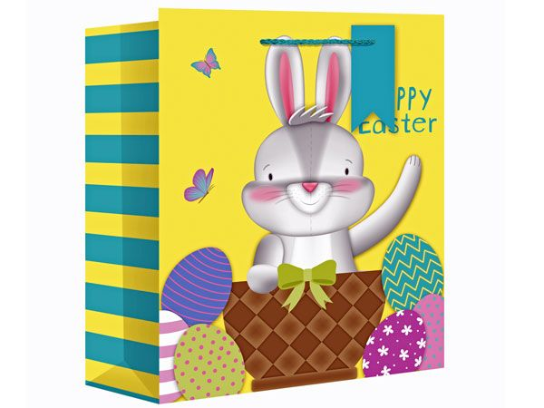 Easter Bunny XL Wide Gift Bag