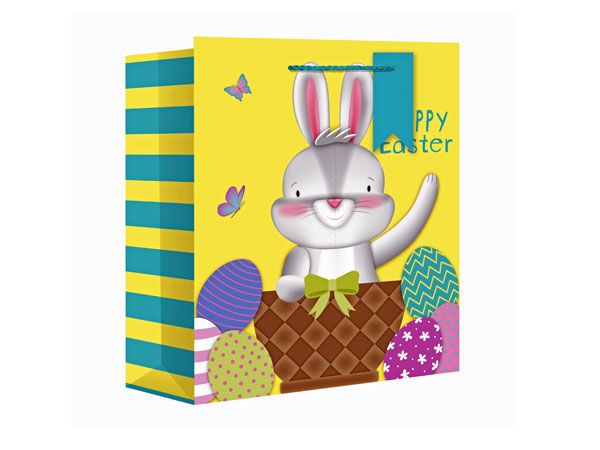 Easter Bunny Medium Wide Gift Bag