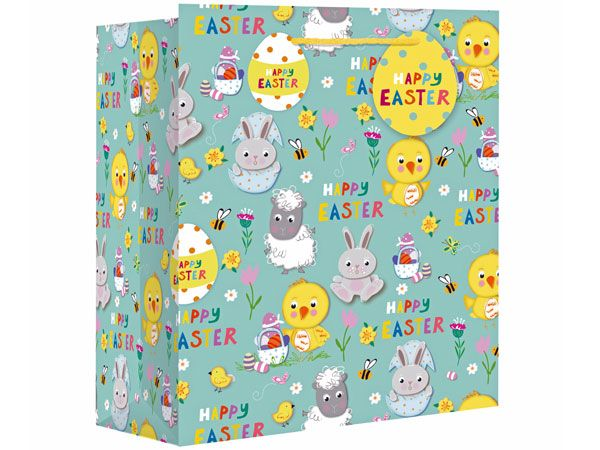 Easter Icons XL Wide Gift Bag