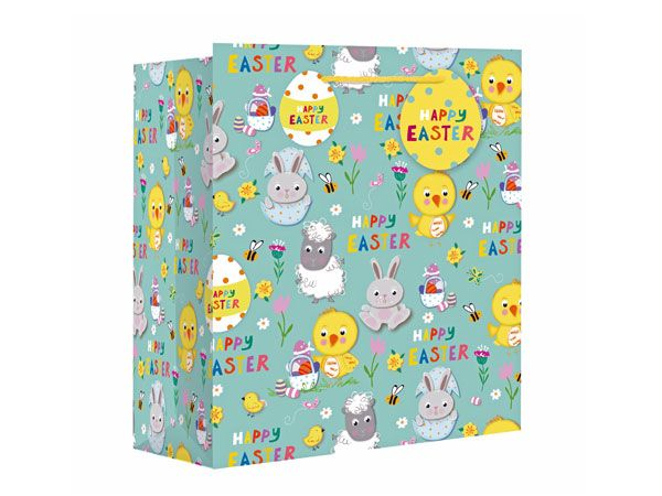 Easter Icons Large Wide Gift Bag