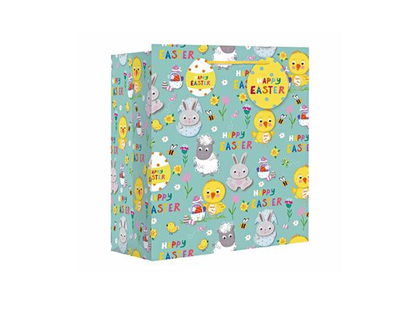 Easter Icons Medium Wide Gift Bag