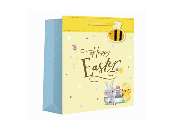 Happy Easter Medium Wide Gift Bag