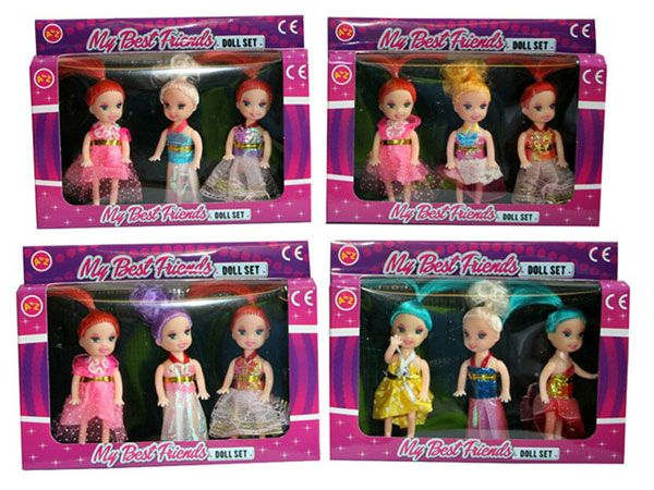 A To Z Small Doll Set