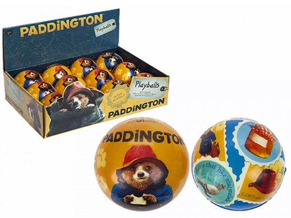 12x Paddington, 75mm PU Play Balls (sfa)