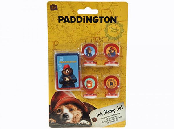 Paddington, 5 piece Ink Stamper Set (sfa)