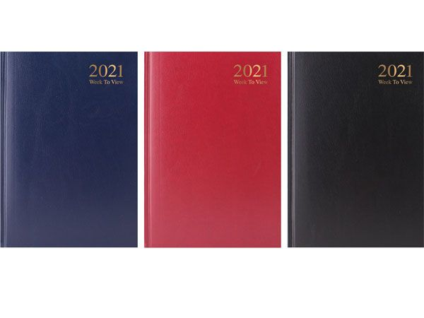 A6 Week To View 2021 Diary