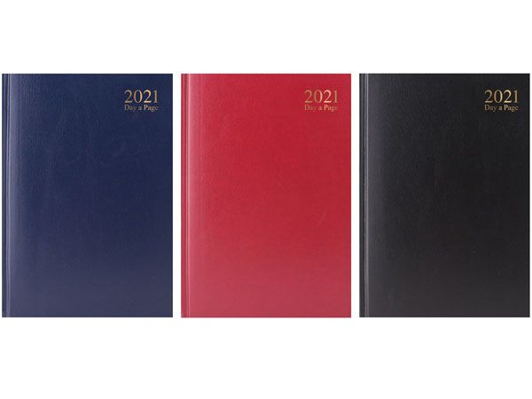 A5 Day To View 2021 Diary