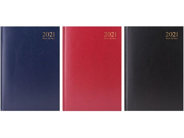 A5 Week To View 2021 Diary