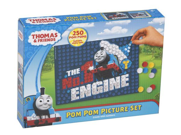 Thomas & Friends Pom Pom Picture (sfa)