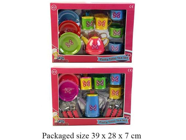 A To Z Toy, My Little Kitchen Tea Set - 2 Assorted Picked At Random