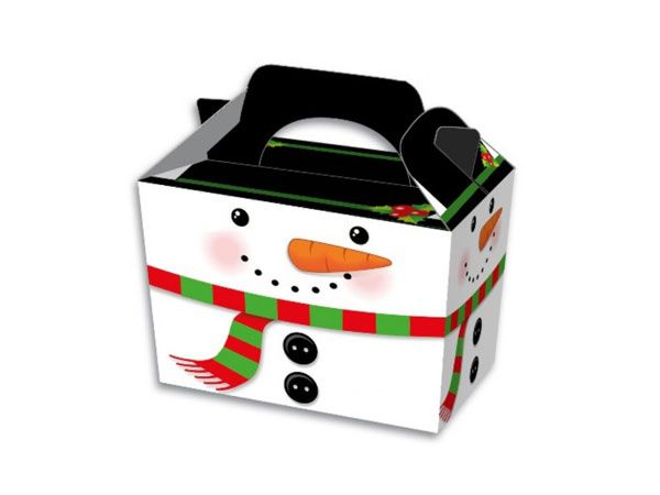 Christmas Snowman Party/ Food Box