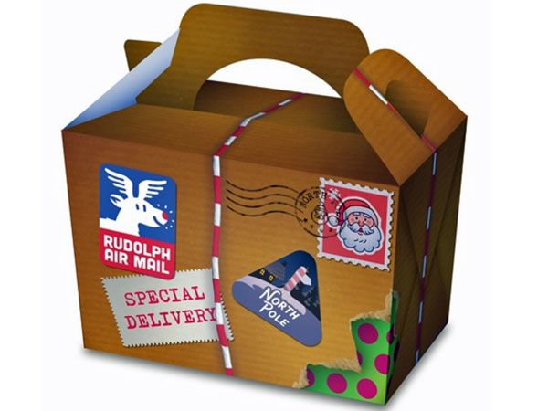 Special Delivery Christmas Party/ Food Box