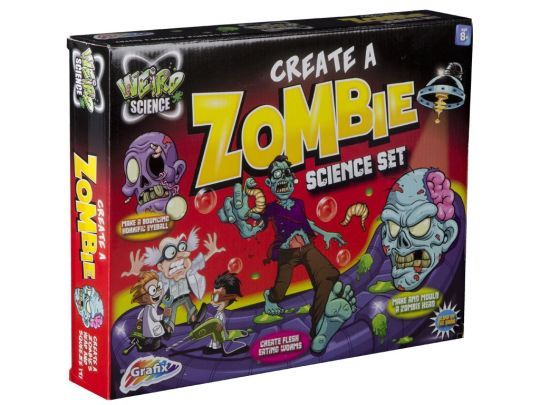 Weird Science - Create A Zombie Science Kit