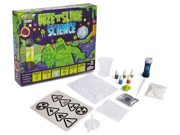 Weird Science - Glowing Gunge And Slime Science Set