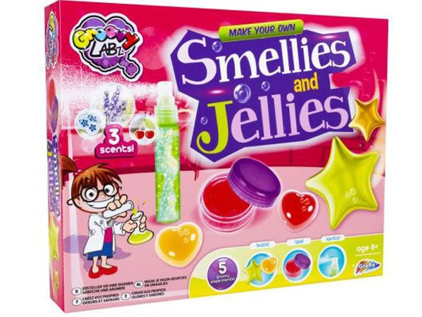 Weird Science Make Your Own Smellies & Jellies