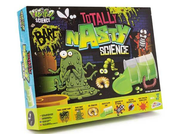Weird Science - Totally Gross Experiments Science Kit