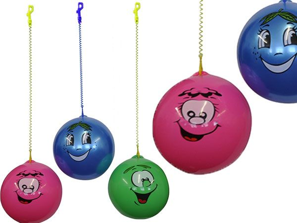 24x Deflated Scented Smile Ball And Keychain (fgh)