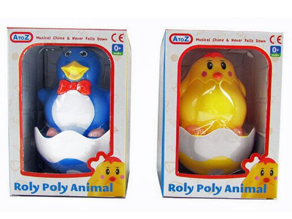 A to Z (Funtime) Animal Roly Poly - ASSORTED