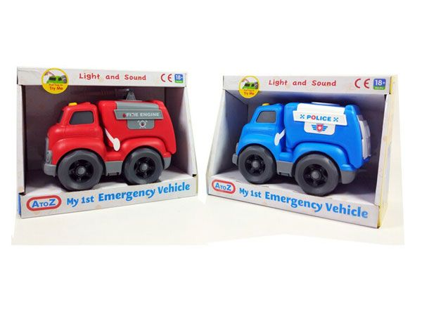 A To Z My 1st Emergency Vehicle - Assorted Picked At Random