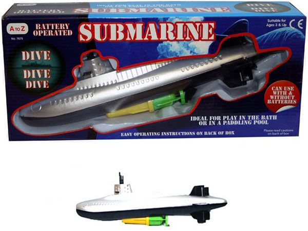 A To Z Battery Operated Submarine