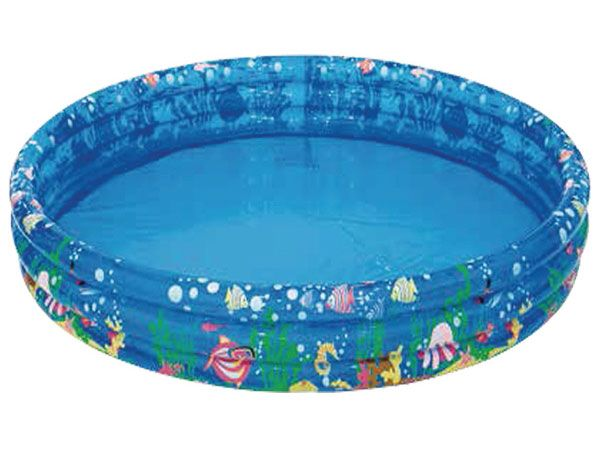 Palmax Aqua Tropical 3 Ring Inflatable Pool, 62inch x 10inch