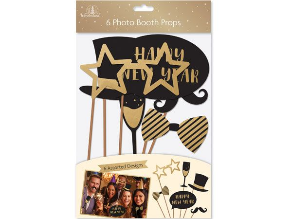 Festive Wonderland 6pk Photo Booth Props