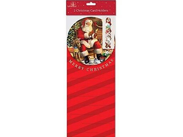 Festive Wonderland 2pk Christmas Card Holders