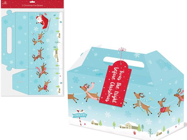 Festive Wonderland 2pk Christmas Eve Boxes