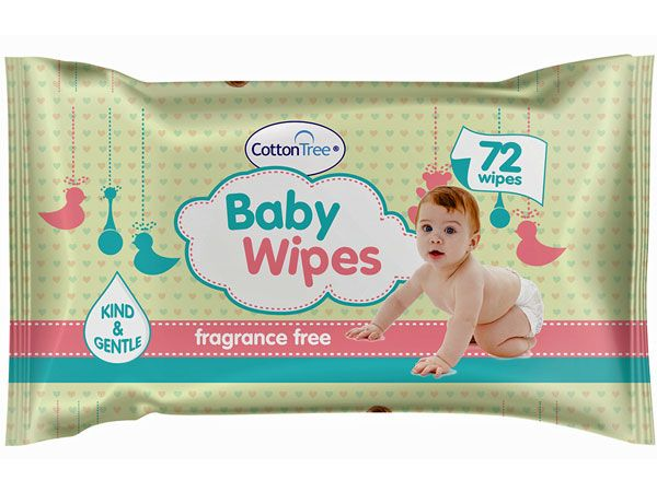 Cotton Tree 72pk Baby Wipes, by 151 Products