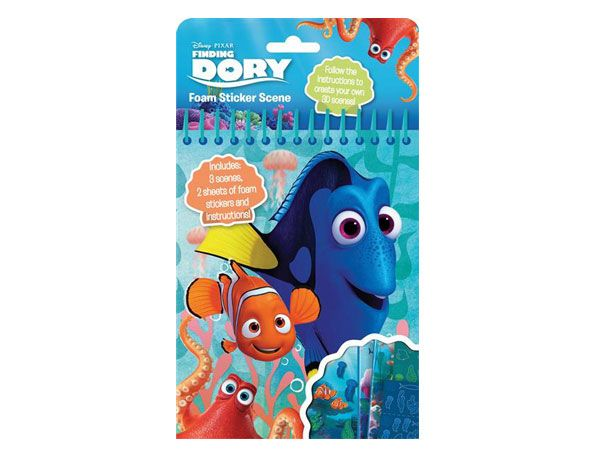 DISNEY Pixar Finding Dory Foam Stickers  zzz (sfa) (jkl)