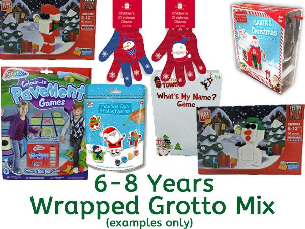 Grotto Toy Mix 6-7 Years UNISEX, Ready Wrapped