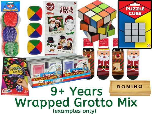 Grotto Toy Mix 8+ Years UNISEX, Ready Wrapped