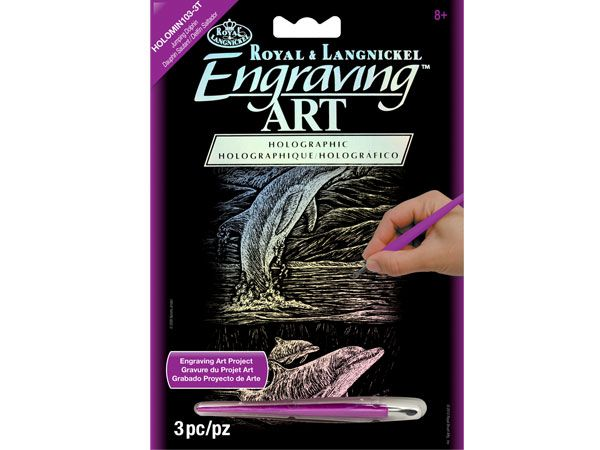 Royal and Langnickel - Engraving Art Kit, Dolphin Design