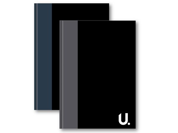U. A4 Hardback Notebook...Assorted   zv