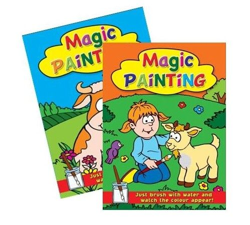 12x Magic Painting Books -2 Assorted   (mto)