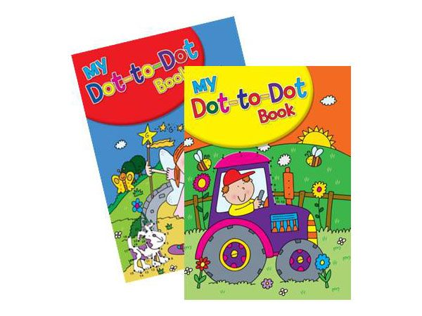 6x My Fun Dot To Dot Book - Book 1 And 2   (mto)