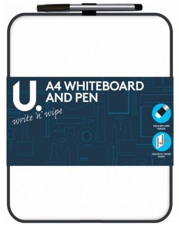 U. A4 Whiteboard & Pen   zv