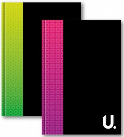 U. A5 Hardback Notebook...Assorted   zv