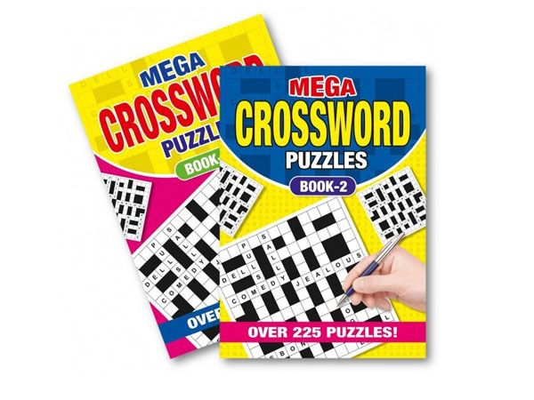 6x A5 Crossword Puzzle Books - 2 Assorted   (mto)