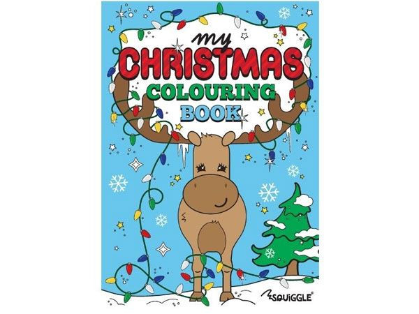 Squiggle My Christmas Colouring Book