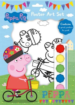 Peppa Pig A4 Poster Art Set (sfa)