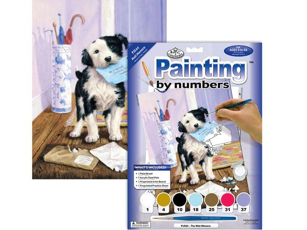 Royal and Langnickel- Paint By Numbers, Mail Menace