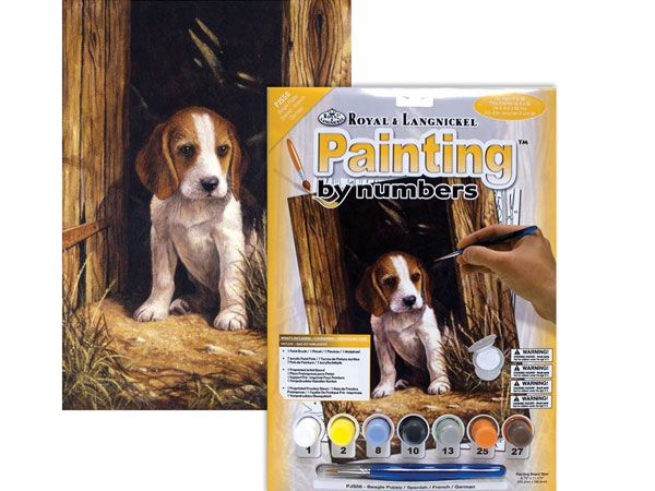 Royal and Langnickel- Paint By Numbers, Beagle Puppy