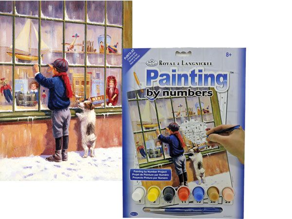 Royal and Langnickel- Paint By Numbers, Christmas Wish