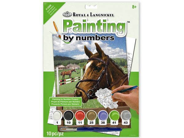 Royal and Langnickel- Paint By Numbers, Equine Paddock